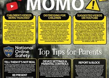Important Information - Momo Challenge Letter