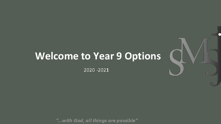 Options Information Powerpoint