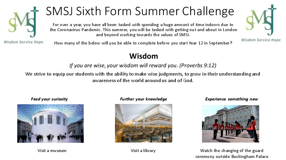 Sixth Form Summer Challenge 1